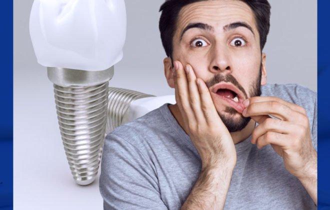مخاطر زراعه الاسنان